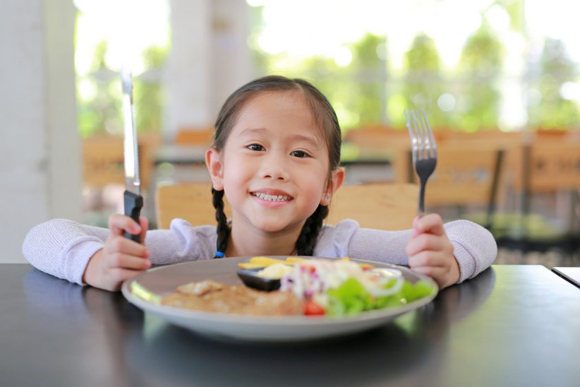 Children Learning Table Manners Is Important